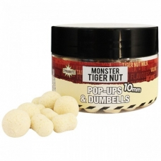Бойлы Dynamite Baits Fluro Pop-Ups & Dumbells Monster Tiger Nut