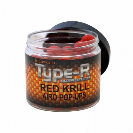 Бойлы Richworth Airo Pop-ups Red Krill 15мм New 2018