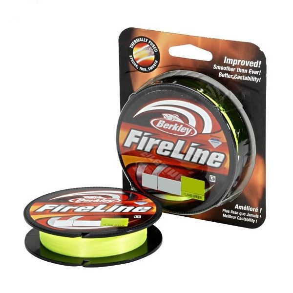 Шнур Berkley Fireline Original New Green 110м