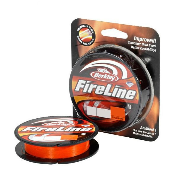 Шнур Berkley Fireline Original New Orange 110м