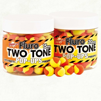 Боылы Dynamite Baits Tutti Frutti & Pineapple Fluro Two Tone pop ups 86г