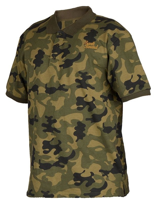Футболка Prologic Bank Bound Polo ц:camo